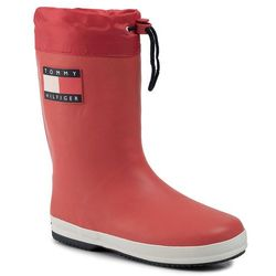 Kalosze TOMMY HILFIGER - Rain Boot T3B6-30540-0801 D Red 300
