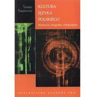 Językoznawstwo, Kultura języka polskiego (opr. broszurowa)