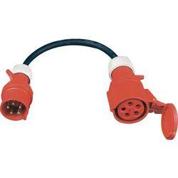 PCE AC540 1m kabel sieciowy 5x4mm / redukcja ze złączami 32A/16A