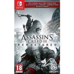 Assassin's Creed III Remastered - Nintendo Switch - Akcji/Przygodowa