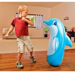 Wańka wstańka dmuchany Delfin INTEX 44669 - Delfin