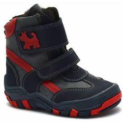 Buty zimowe dla dzieci marki Kornecki 04560 Granatowe