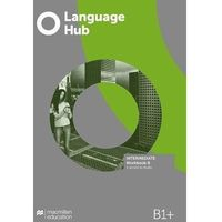 Książki do nauki języka, Language hub split ed. inter. b1+ wb b macmillan - jeremy day, gareth rees