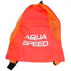 Worek na sprzęt pływacki Aqua-Speed pomarańczowy
