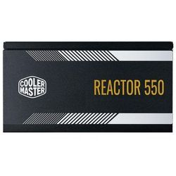 Cooler Master Reactor Gold 750 Zasilacz do komputera - 750 wat - 120 mm - 80 Plus