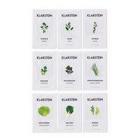 Pozostałe rośliny i hodowla, Klarstein Growlt Seeds Europe 9 paczek nasion: 3 x Azja 3 x Europa 3 x sałata