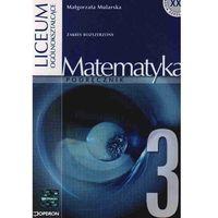 Matematyka, Matematyka 3 Podręcznik (opr. miękka)