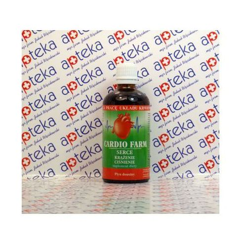 Leki na krążenie, Cardio Farm płyn doustny - 100 ml