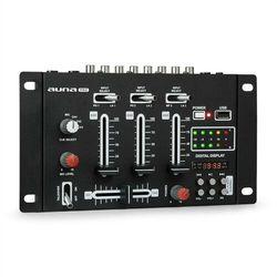 Auna Pro DJ-21 mikser DJ konsola USB czarny