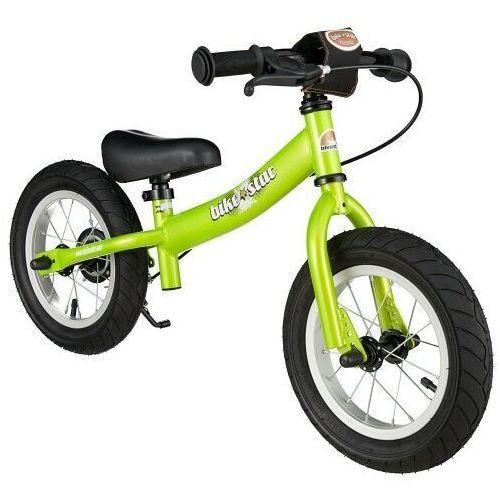 """Rowerki biegowe, Rowerek biegowy 12"""" XL BIKESTAR GERMANY sport, kolor zielony"""