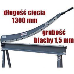 GILOTYNA NOŻYCE SIERPOWE SZABLOWE DO BLACHY MAKTEK HS-1300 EWIMAX promocja (-43%)