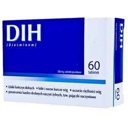 DIH, 500 mg, tabl.powl., 60 szt,bl(4x15)