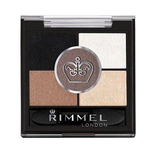 Cienie do powiek, Rimmel London Glam Eyes HD cienie do powiek 3,8 g dla kobiet 023 Foggy Grey