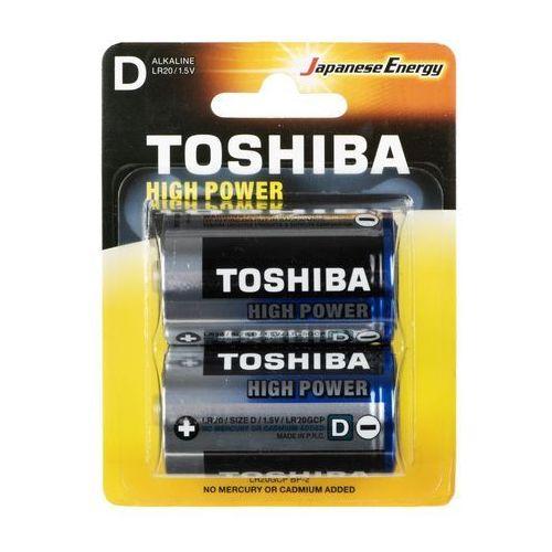 Baterie, Baterie alkaliczne Toshiba LR20GCP BP-2 (2szt.)- natychmiastowa wysyłka, ponad 4000 punktów odbioru!