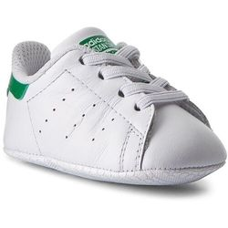 Buty adidas - Stan Smith Crib B24101 Ftwwht/Ftwwht/Green