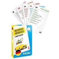 Książki do nauki języka, Rozmówki niemieckie i Karty do gry 2w1 - KINGA PERCZYŃSKA (opr. twarda)