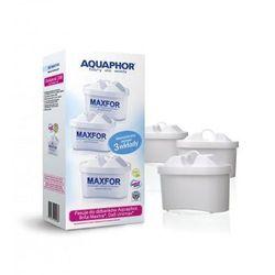 Aquaphor Dzbanek filtrujący Amethyst 2,8 l + 3 wkłady B100-25 Maxfor (kolor wiśniowy)