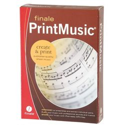 Finale PrintMusic 2014 program do edycji nut