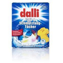 DALLI 15szt Niemieckie Chusteczki do wyłapywania kolorów (15 prań)