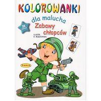 Kolorowanki, Kolorowanki dla malucha Zabawy chłopców - Ernest Błędowski