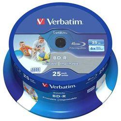 Płyta BD-R SL Verbatim 25GB Cake 25szt.