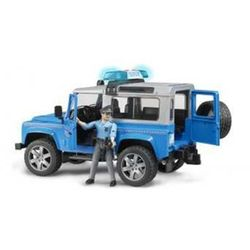 Land Rover Policyjny z figurką Bruder 02597