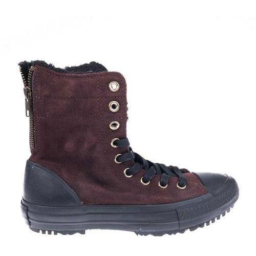 Obuwie sportowe dla kobiet, buty CONVERSE - CT AS Hi-Rise Boot Material Burnt Umber/Black/Natural (BURNT UMBER/BLACK/NA) rozmiar