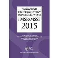 E-booki, EBOOK Porównanie przepisów ustawy o rachunkowości i MSR/MSSF 2015