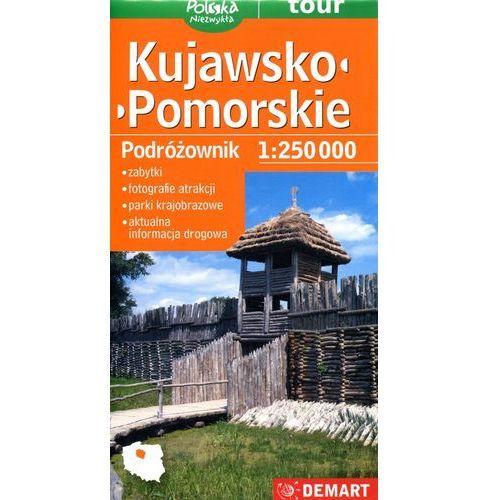 Mapy i atlasy turystyczne, Kujawsko-pomorskie podróżownik mapa samochodowa (opr. twarda)