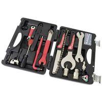 Narzędzia rowerowe i smary, Zestaw narzędzi rowerowych Bike Hand YC-728 w walizce