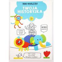 Naklejki, 300 naklejek 3+ twoja historyjka Niebieska - książka
