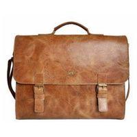Pokrowce, torby, plecaki do notebooków, JAZZY WANTED 94 torba teczka na ramię skóra naturalna firmy DAAG z miejscem na laptopa/notebooka/