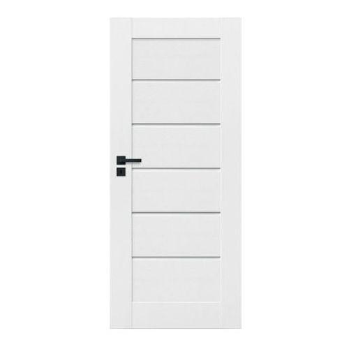 Drzwi wewnętrzne, Drzwi pełne Toreno 60 prawe kredowo-białe