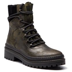 Trapery TOMMY HILFIGER - Modern Hiking Boot C FW0FW03047 Camo 901