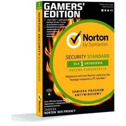 Norton Security Standard 3.0 (1 urządzenie, 1 rok) + Notron WiFi Privacy Program NORTON
