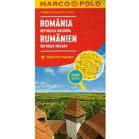 Mapy i atlasy turystyczne, Marco Polo Mapa Samochodowa Rumunia, Mołdawia 1:800 000 Zoom (opr. kartonowa)