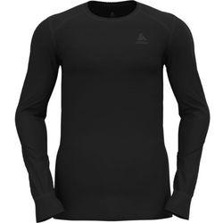 Odlo Active Warm Plus Top Crew Neck L/S Men, czarny L 2021 Koszulki bazowe termiczne i narciarskie