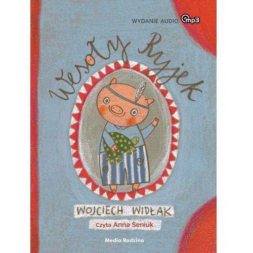 Książki dla dzieci, Wesoły Ryjek MP3 (opr. twarda)