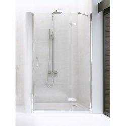 NEW RENOMA Drzwi prysznicowe 80x195 PRAWE, szkło czyste + Active Shield D-0096A * wysyłka gratis!