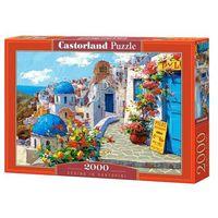Puzzle, Puzzle 2000 elementów. Spring in Santorini