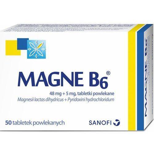 Witaminy i minerały, Magne B6 x 50 tabl. *C