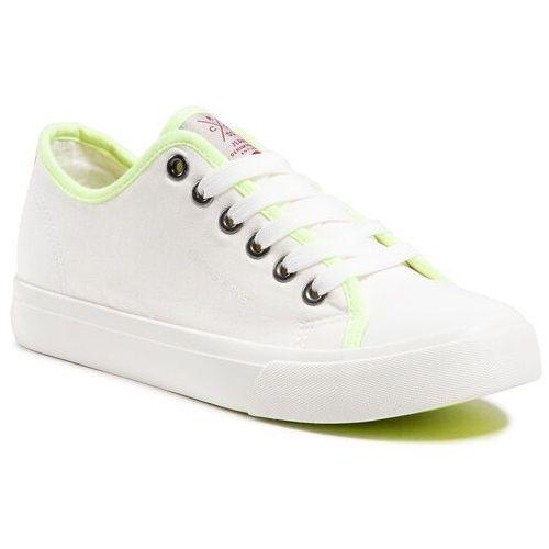 Damskie obuwie sportowe, Trampki CROSS JEANS - HH2R4022C White
