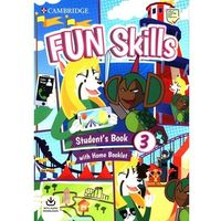 Książki do nauki języka, Fun Skills 3 Students Book with Home Booklet and Downloadable Audio - Sage Colin, Robinson Anne - książka