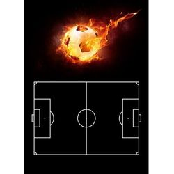 Tablica taktyczna trenerska piłka nożna 397 magnetyczna suchościeralna