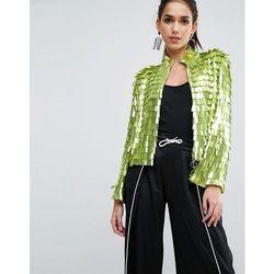 ASOS Sequin Kimono Jacket - Green