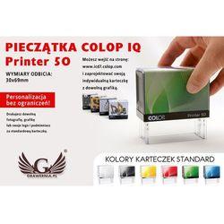 Pieczątka samotuszująca COLOP Printer 50 - wymiar płytki tekstowej: 30 x 69mm