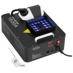 Singercon Wytwornica mgły - 509 m³/min - DMX - 3 kolory LED CON.FM-1500A 24L
