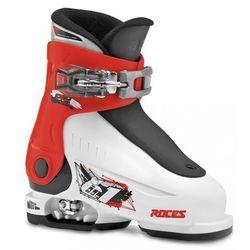 Roces buty narciarskie dziecięce Idea UP Biało/Czerwono/Czarne 25-29 - BEZPŁATNY ODBIÓR: WROCŁAW!