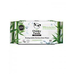 Bambusowe Chusteczki Nasączone Wodą Cheeky Panda, 64szt.