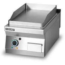 Płyta grillowa elektryczna, gładka, 4,05 kW, 400x700x280 mm | LOZAMET, L700.GPE400G